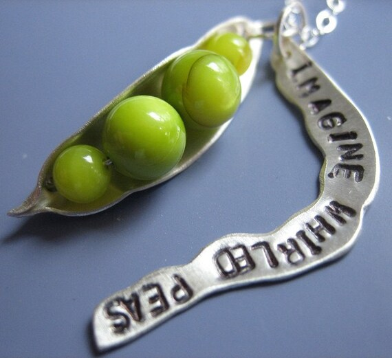 Imagine Whirled Peas Necklace