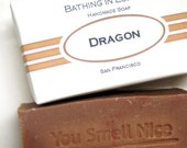 Dragon Soap  - unisex to masculine - Happy Chinese New Year
