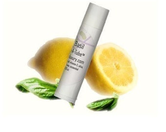 Natural Lip Balm - Lemon Basil - Vegan - See listing for discount