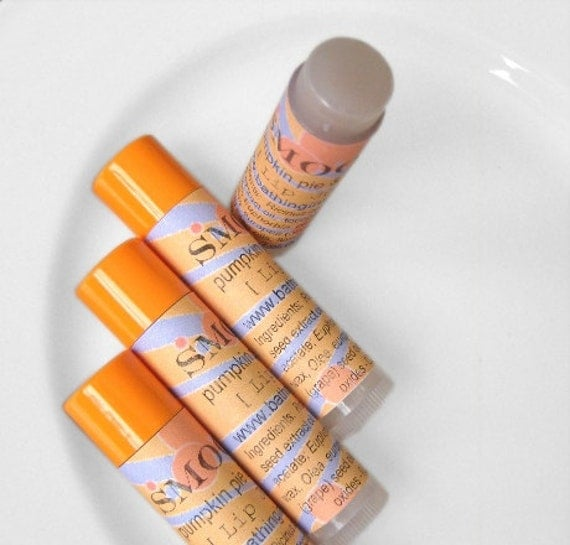SMOOCH Pumpkin Pie Lavender Lip Balm - relax See listing for discount for multiple tubes and other flavors
