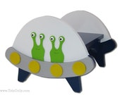 Flying Saucer Step Stool