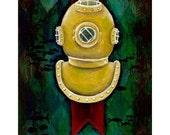 Undersea Art Print 4x6: Tribute