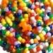 Rainbow Kandi Bracelets -- Kandi -- Raver Kandi Bracelets -- Set of 5