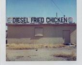 Polaroid Print 5x7 -  Diesel Fried Chicken - Roadside Americana