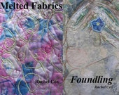 Two Textiles CD Books Melted Fabrics and Foundling