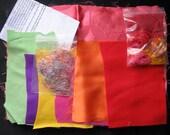 Textiles Art Kit Tequila Sunrise