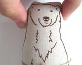 little linen bear