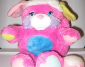 Prize Popple by Mattel from 1986, 11 inches, Clean but matted.