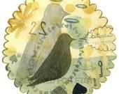 Between Two - bird (Framed)