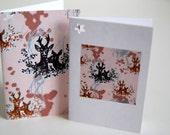Six deer gift tags (six etiquettes cadeau cerf)