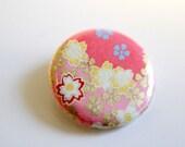 Chiyogami button (badge chiyogami)