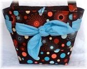 Retro Swanky Browns Tote Bag Diaper Bag
