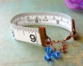 Art of the Dress Bracelet - Rarity Bracelet - Measuring Tape Bracelet, My Little Pony