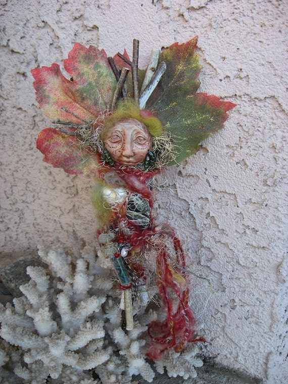 ARTIST SALE Forest Spirit of Endless Light,  Great Mothers Day Gift OOAK