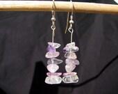 Rainbow Fluorite Earrings