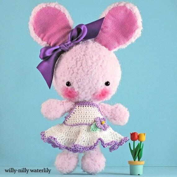 Sparkly Ballerina Bunny (Cotton Candy Pink)