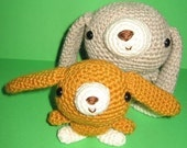 Little Bunny and his Mommy - PDF crochet pattern