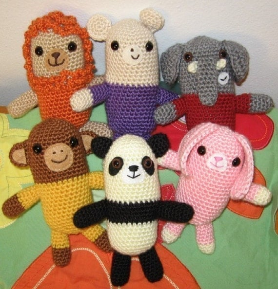 Amigurumi Free Patterns Knitting : Crochet Pattern Amigurumi Animals