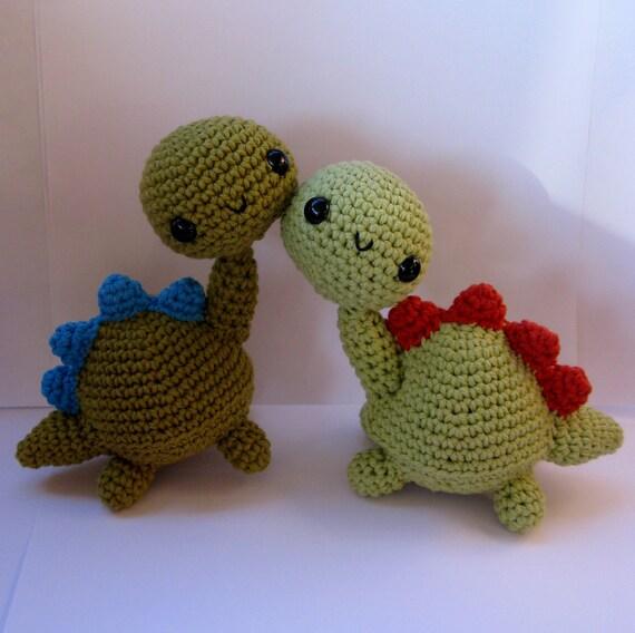 Amigurumi Dinosaur : Amigurumi Dinosaur PDF crochet pattern