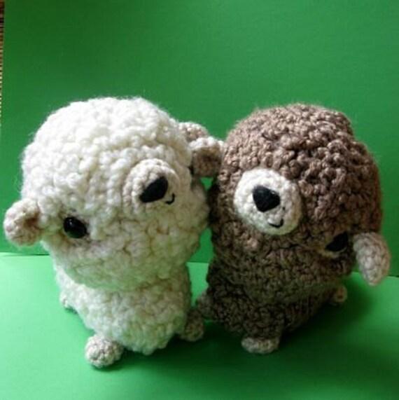 Etsy Amigurumi Sheep : Amigurumi Sheep PDF crochet pattern by anapaulaoli on Etsy