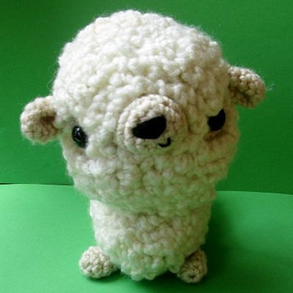 Amigurumi Sheep PDF crochet pattern