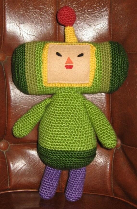Crochet Pattern - Katamari Damacy Prince