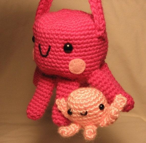 Octopus Purse - Crochet Pattern