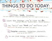 Things To Do Poster