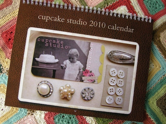 cupcake studio 2010 wall calendar crafts and snaps from the midwest