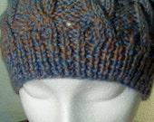 Aran Cable Knit Hat Cap
