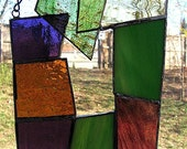 Multicolored Stained Glass Suncatcher
