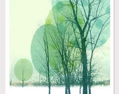 Tree Print - Graphic art photo illustration - 8.5 x 11 inches