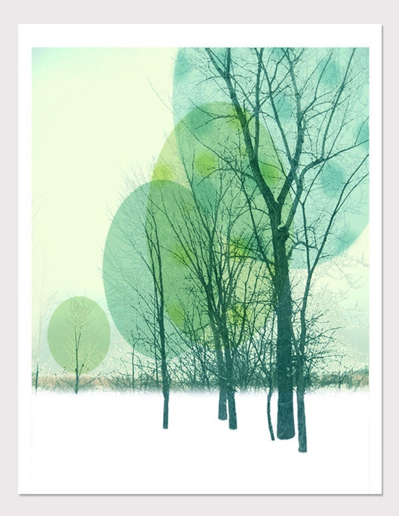 Tree Print - Graphic art photo illustration - 8.5 x 11 inches