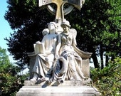 Wife and Daughter - cemetery monument photo