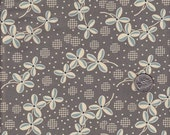 Half yard - Denyse Schmidt Hope Valley Prairie Rose in New Day cotton quilt fabric - only piece left