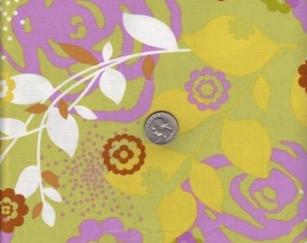 SALE - One yard - Erin McMorris Weekend - Saturday in Grass - cotton quilt fabric