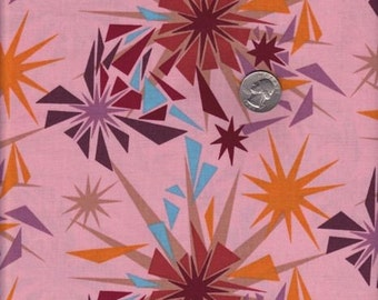 SALE - Fat quarter - Anna Maria Horner Innocent Crush - Shattered in Punch cotton quilt fabric
