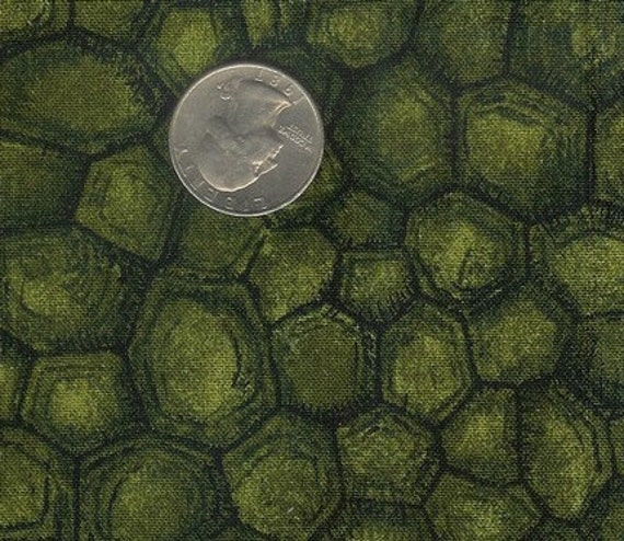 Fat Quarter Turtle Shell Cotton Quilt Fabric