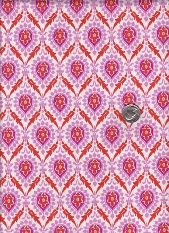 Fat quarter - Jennifer Paganelli - Honey Child Dana in Orange cotton quilt fabric
