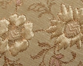 Vintage Gold Brocade Upholstery Fabric