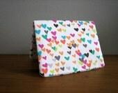 Card Wallet - Confetti Hearts