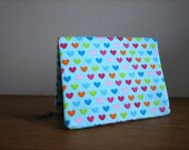 Card Wallet - Blue Candy Hearts