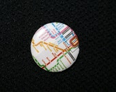 2 Chicago L Buttons Thank You for Riding the CTA