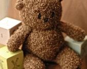 Curly Purly Bear Knitting Pattern
