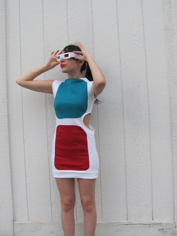 3-D Glasses Dress RESERVED FOR MVIGILAN