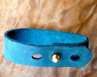 simple turquoise wide cuff