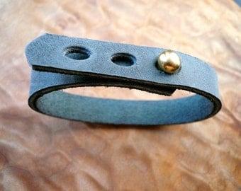 simple gray cuff