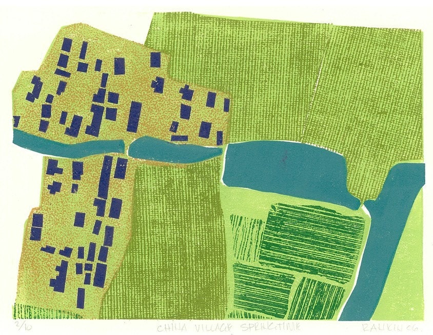 Map as abstract art - commission project - image 7 - student project