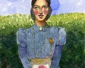 Portrait of a Woman Waiti...