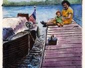 Nautical Art Boats Family...